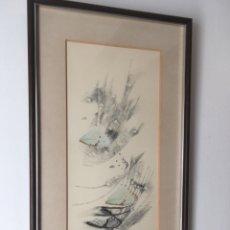 Arte: ESTHER BOIX (GIRONA, 1927 - 2014) TÉCNICA MIXTA COLECCIÓN PARTICULAR DE LA ARTISTA. Lote 193914838