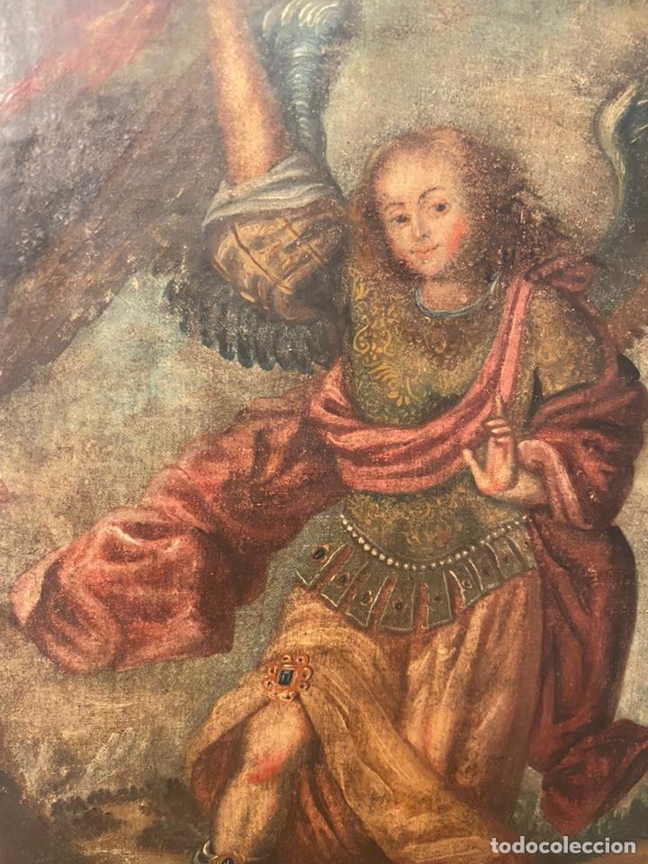 Arte: Arcángel. Arte colonial. Escuela cuzqueña siglo XVII. - Foto 2 - 193977516