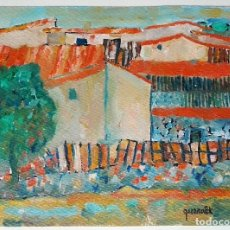 Arte: JOAN QUERALT DE QUADRAS (1.947) - CASES I COBERTS (GÒSOL) - OBRA 2.008. Lote 53505310