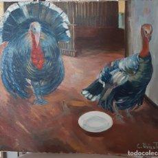 Arte: LOS FAISANES. Lote 194014313