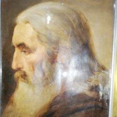 Arte: OLEO SOBRE PAPEL ME DICEN QUÉ SE ATRIBUYE AL PINTOR TORRESCASSANA... SIGLO XLX. Lote 194077263