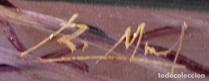 Arte: Roberto Michel - Barcelona 1.944 Óleo sobre Lienzo - Naturaleza Muerta Gran Formato - Foto 7 - 194107435