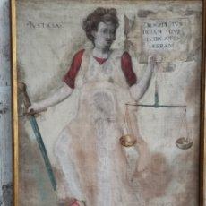 Arte: SARGA XVI JUSTICIA PROBABLEMENTE DE LA LOMBARDIA. Lote 194121248