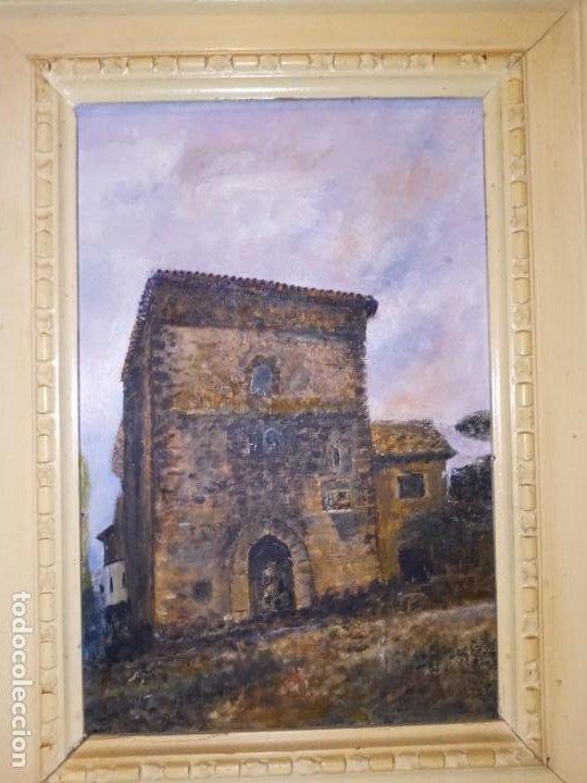 ESCUELA ESPAÑOLA PP.S.XX EL TORREON (Arte - Pintura - Pintura al Óleo Moderna sin fecha definida)