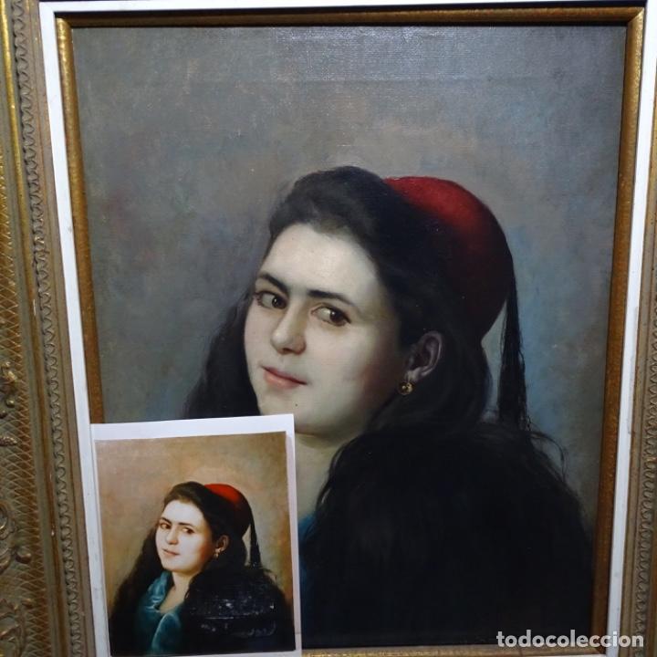 EXCELENTE ÓLEO DE TOMÀS MORAGAS I TORRAS(GIRONA 1837-BCN 1906).CERTIFICADO BARRACHINA.1882. (Arte - Pintura - Pintura al Óleo Moderna siglo XIX)
