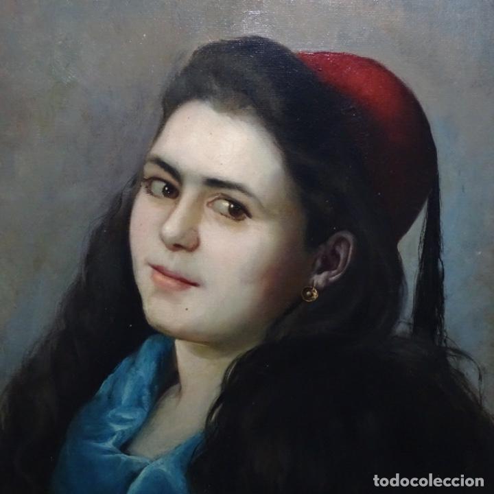 Arte: Excelente Óleo de Tomàs moragas i torras(girona 1837-bcn 1906).certificado barrachina.1882. - Foto 4 - 194156507