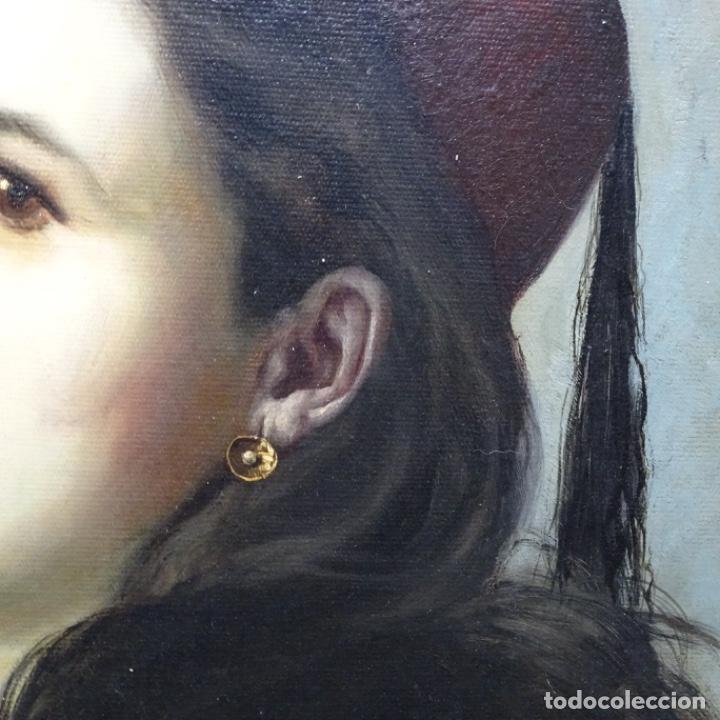 Arte: Excelente Óleo de Tomàs moragas i torras(girona 1837-bcn 1906).certificado barrachina.1882. - Foto 8 - 194156507