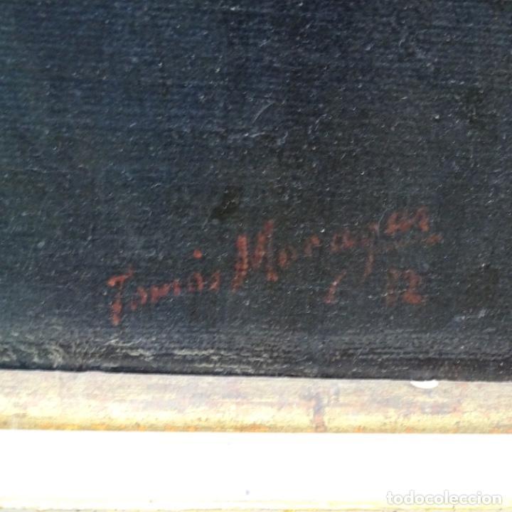 Arte: Excelente Óleo de Tomàs moragas i torras(girona 1837-bcn 1906).certificado barrachina.1882. - Foto 18 - 194156507