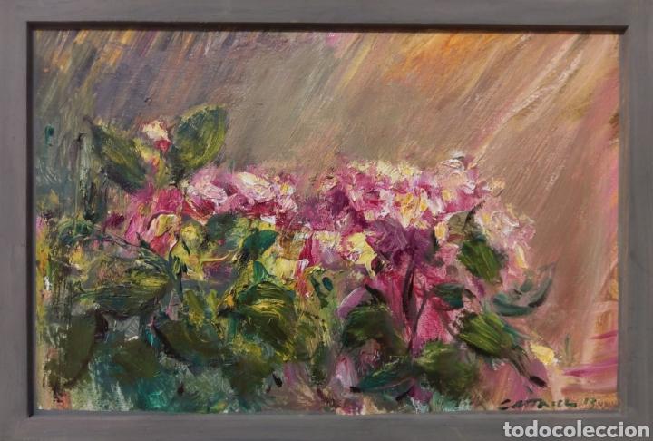 HORTENSIAS 2013 (Arte - Pintura - Pintura al Óleo Contemporánea )