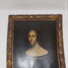 Arte: ANTIGUO RETRATO OLEO SOBRE LIENZO SIGLO XVII XVIII HOLANDES. Lote 178786621