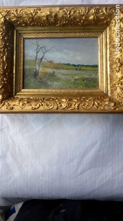 PAISAJE POSTIMPRESIONISTA. S.XIX. (Arte - Pintura - Pintura al Óleo Moderna siglo XIX)