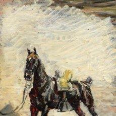 Arte: ÓLEO MARCELINO DE UNCETA Y LÓPEZ CABALLO SIGLO XIX / XX. Lote 194219955