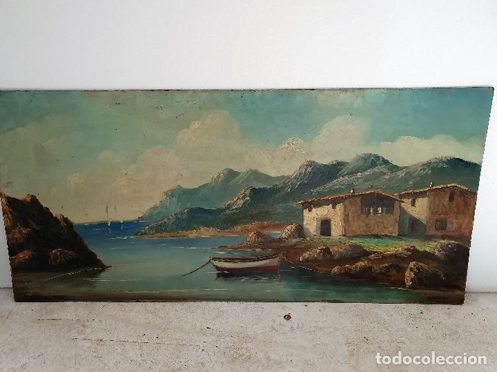 OLEO SOBRE TABLA FIRMADO (Arte - Pintura - Pintura al Óleo Moderna sin fecha definida)