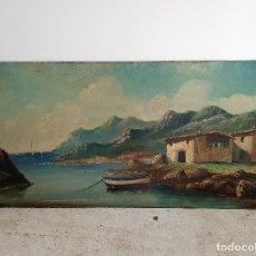 Arte: OLEO SOBRE TABLA FIRMADO. Lote 194222798