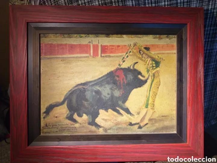 Arte: BONITO CUADRO PINTURA DE ALCALDE MOLINERO DEDICATORIA A JOANITA NADAL - Foto 9 - 194239116