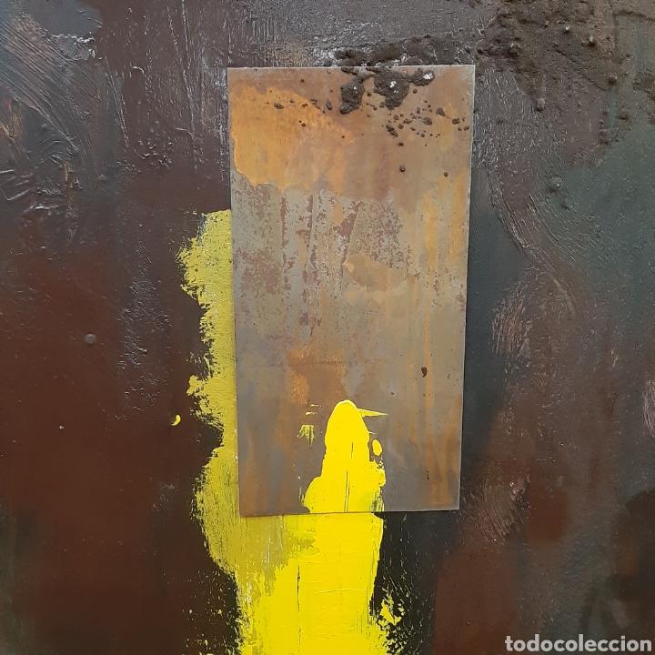 Arte: Cuadro Abstracto Oleo Sobre Lienzo / Cuadro Oleo - Foto 2 - 194241861