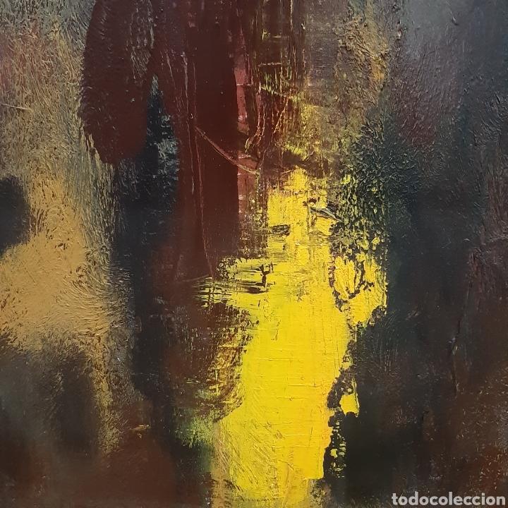 Arte: Cuadro Abstracto Oleo Sobre Lienzo / Cuadro Oleo - Foto 5 - 194241861
