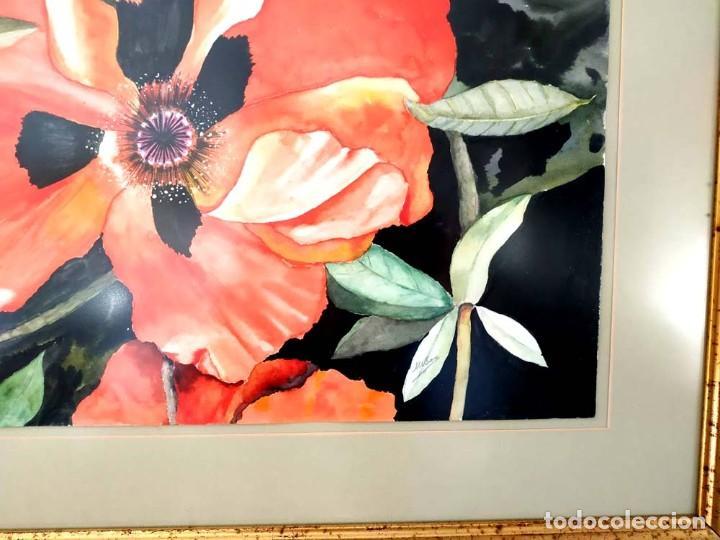 Arte: AMAPOLA LINDISIMA AMAPOLA M.SOS ACUARELA - Foto 3 - 194242251