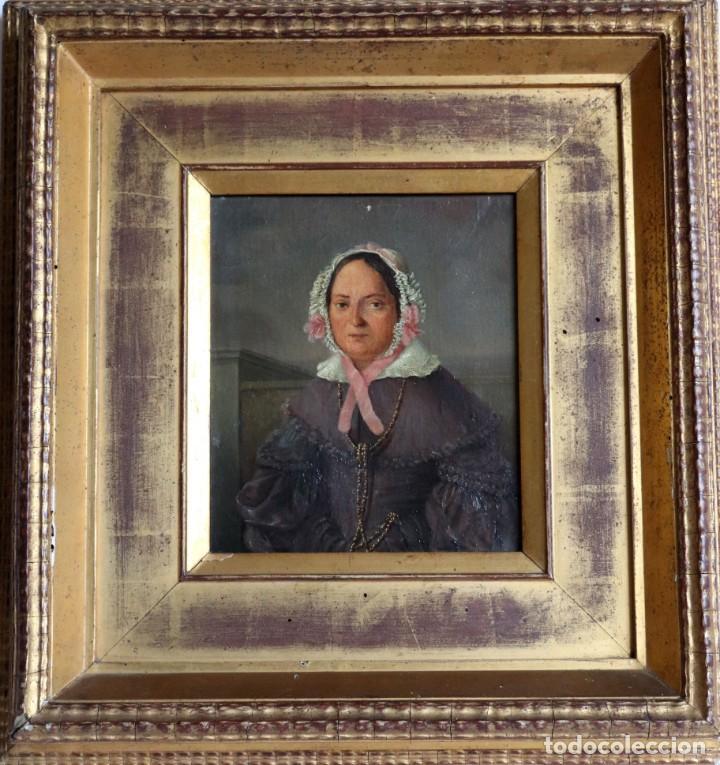 Arte: Óleo sobre lienzo siglo XIX italiano - Foto 2 - 194252350