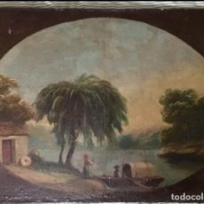 Arte: PAREJA DE PAISAJES , SIGLO XIX . Lote 194259762