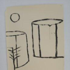Arte: CUADRO PAISAJE LÁMINA 100 X 70. Lote 194267562
