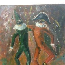 Arte: ORIGINAL. OBRA DE FRANCESC GASSÓ. ARTISTAS. DIRECTAMENTE DESDE EL ESTUDIO. MEDIDAS 40 X 35. Lote 194271752