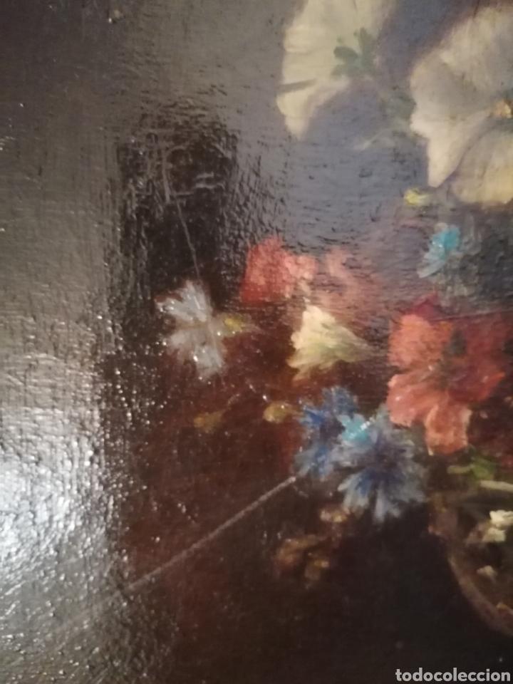 Arte: Bodegon flores ingles firma ilegible 1800 - Foto 15 - 194276382