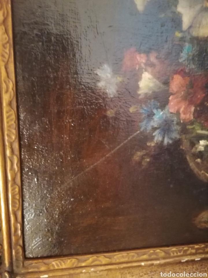 Arte: Bodegon flores ingles firma ilegible 1800 - Foto 17 - 194276382