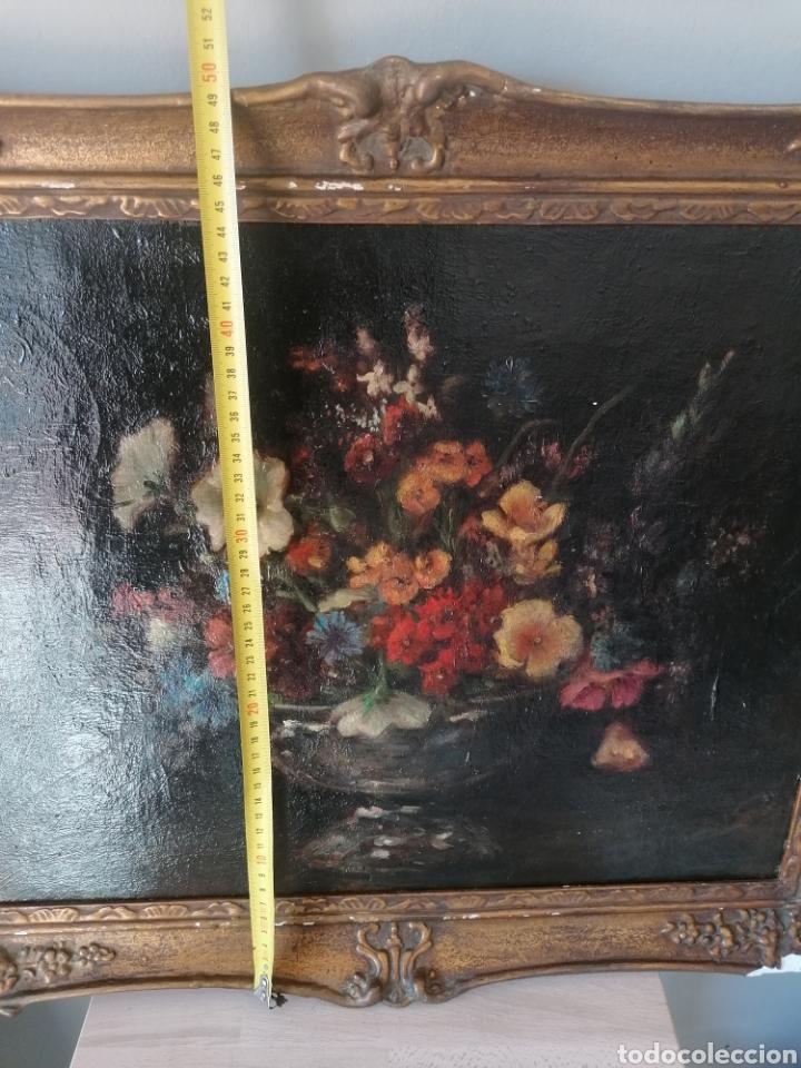 Arte: Bodegon flores ingles firma ilegible 1800 - Foto 22 - 194276382