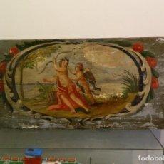 Arte: DIANA Y CUPIDO, LACCA POVERA, SIGLO XVIII.. Lote 194308231