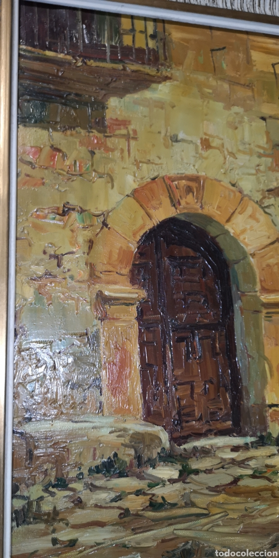 Arte: Óleo sobre lienzo firmado Cerrato podría ser Toledo - Foto 2 - 194332184
