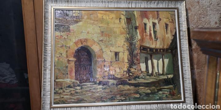 ÓLEO SOBRE LIENZO FIRMADO CERRATO PODRÍA SER TOLEDO (Arte - Pintura - Pintura al Óleo Contemporánea )