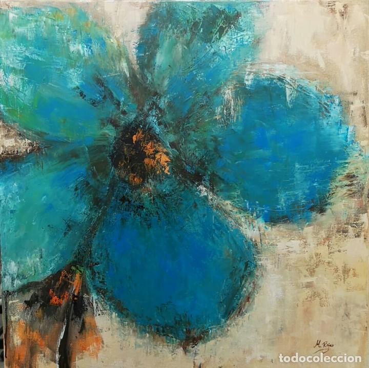 FLOR (Arte - Pintura - Pintura al Óleo Contemporánea )
