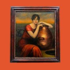 Arte: LA SAMARITANA, SEGUN JULIO ROMERO DE TORRES. Lote 194337983