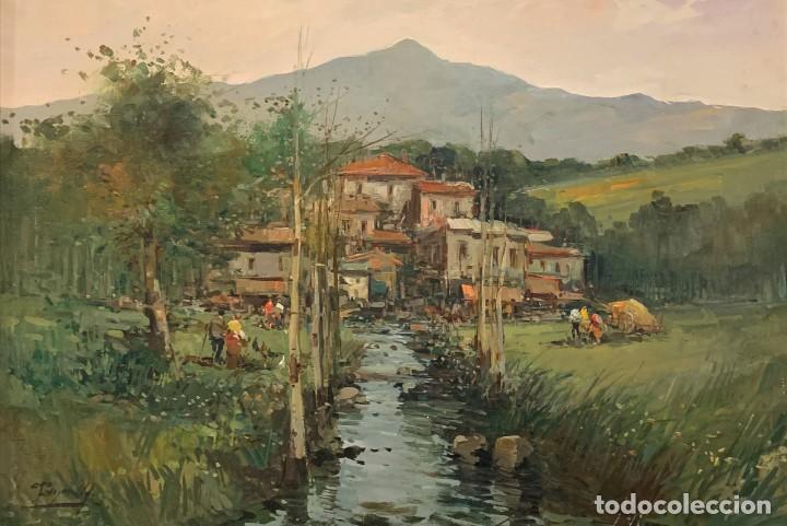 CIRO CANZANELLA (1948) - PAZ AUTÉNTICA (Arte - Pintura - Pintura al Óleo Moderna sin fecha definida)