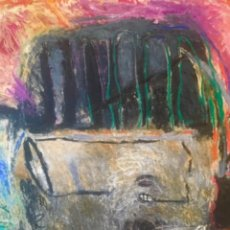 "Arte: PEDRO SIMÓN "" SUEÑO EROTICO "". 163X130CM. Lote 194341561"