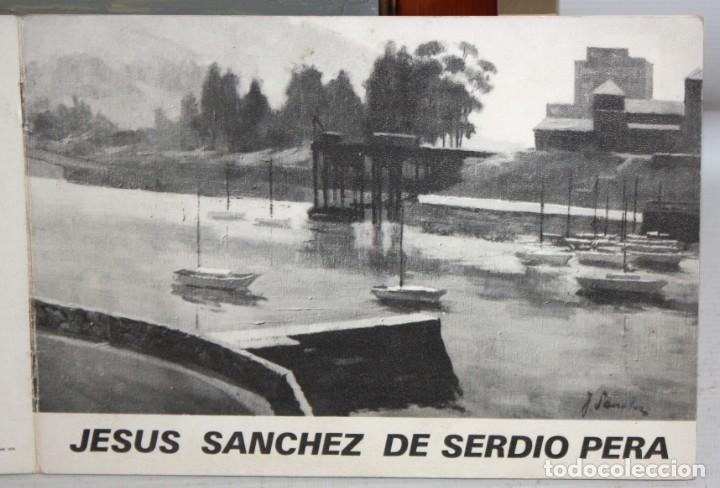 Arte: JESUS SANCHEZ DE SERDIO PERA. OLEO SOBRE TELA TITULADO ASTILLERO. CON CATALOGO DE LA EXPOSICION - Foto 11 - 194349040