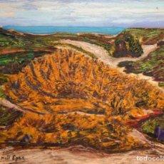 Arte: JORDI EGEA (SIGLO XX) OLEO SOBRE TABLA FIRMADO. PAISAJE. Lote 194351555