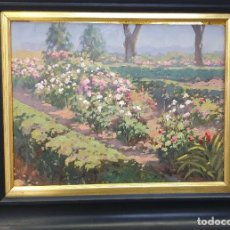 Arte: JARDIN. ALFONSO DE LA TORRE. Lote 194360132