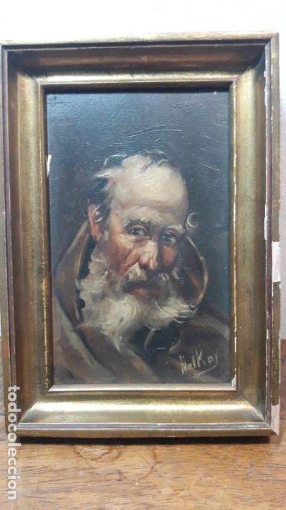PERSONAJE FIRMADO NOLKOY (Arte - Pintura - Pintura al Óleo Moderna sin fecha definida)