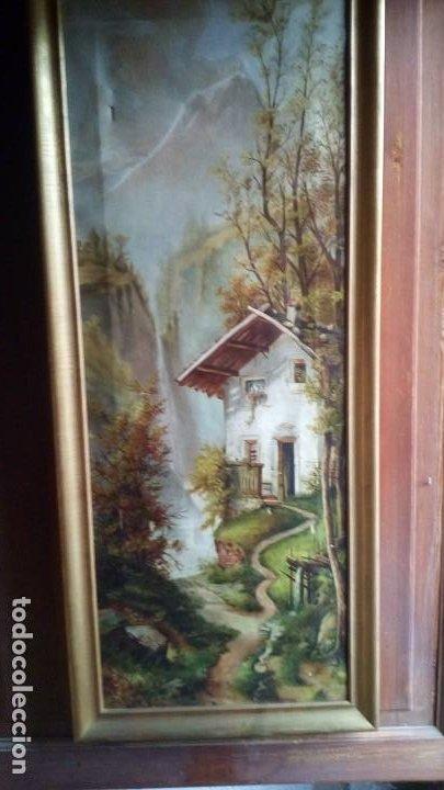 OLEO - PAISAJE - 1910. (Arte - Pintura - Pintura al Óleo Moderna siglo XIX)