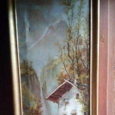 Arte: OLEO - PAISAJE - 1910.. Lote 194370958