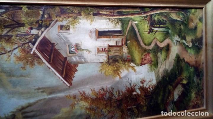Arte: OLEO - PAISAJE - 1910. - Foto 2 - 194370958