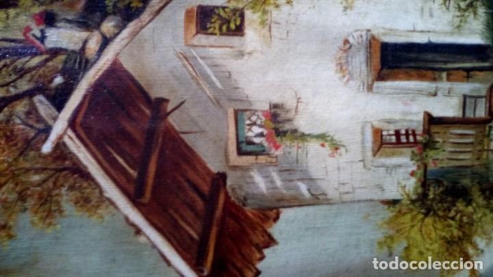 Arte: OLEO - PAISAJE - 1910. - Foto 4 - 194370958