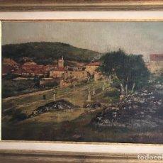 Arte: CUADRO FIRMADO REGOYOS. Lote 194381828