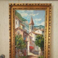 Arte: PINTURA AL OLEO. Lote 194403946