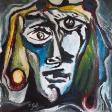 Arte: PINTURA SOBRE TELA ORIGINAL FIRMADA. Lote 194494562