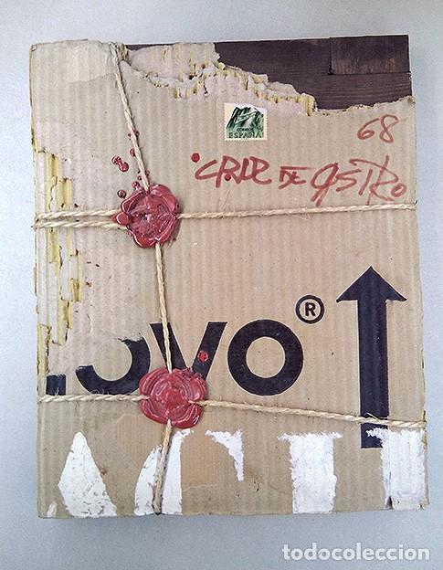 FRANCISCO CRUZ DE CASTRO (1935). 'LACRE Nº 2', 1968 (Arte - Pintura - Pintura al Óleo Contemporánea )