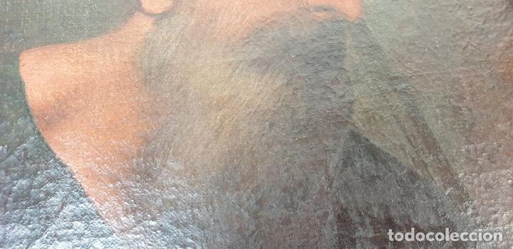Arte: RETRATO DE HOMBRE. ÓLEO SOBRE LIENZO. SIN FIRMAR. SIGLO XVIII-XIX. - Foto 4 - 167779932
