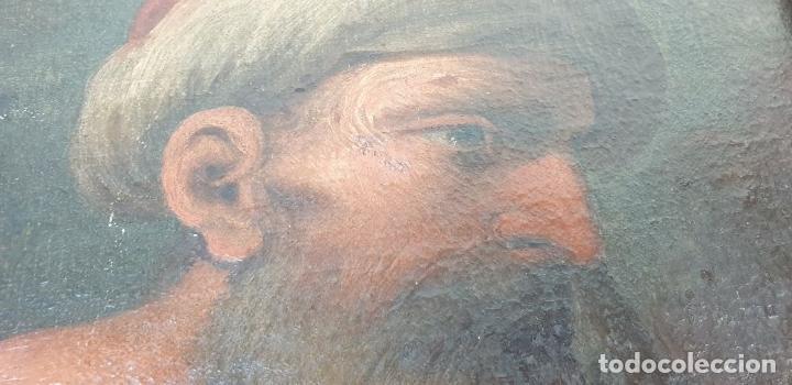 Arte: RETRATO DE HOMBRE. ÓLEO SOBRE LIENZO. SIN FIRMAR. SIGLO XVIII-XIX. - Foto 6 - 167779932